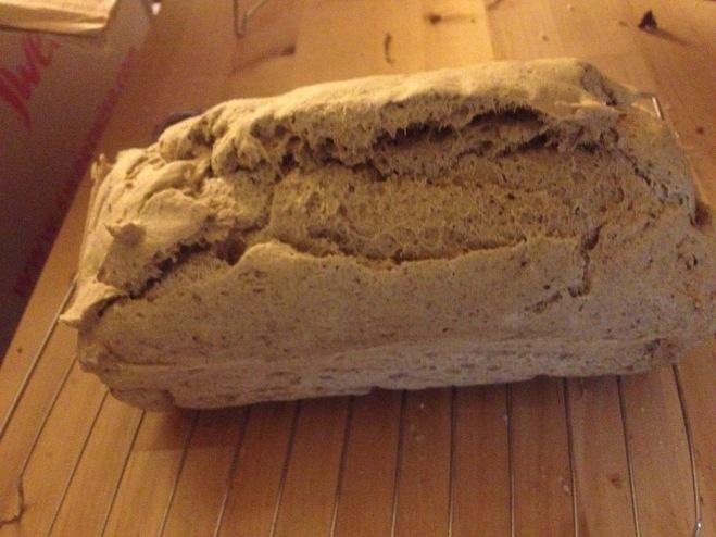 Gluten Free, Yeast Free Vegan Bread